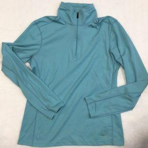 Women's REI lightweight Base layer half zip top